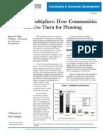 FSCED6 - Economic Multipliers