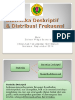 3. Deskriptif Dan Distribusi Frekuensi