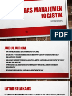 Tugas manajemen logistik