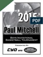 Paul Mitchell Tournament