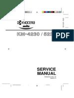 service manual KM 4230-5230 SM