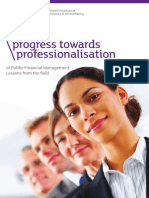 Progress Towards Professionalisation1