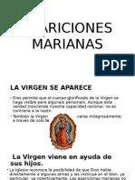 Charla Apariciones Marianas