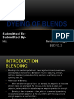 Dyeing of Blends