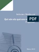 Informe Mediacat Opinadors 2013