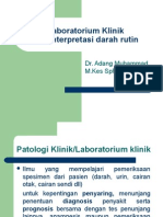 Laboratorium Klinik 2012.ppt