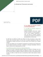 Effets de l'Économie Chinoise Sur l'Économie Marocaine