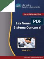 Ley General Del Sistema Concursal Peruano Comentado