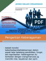 Keragaman Dalam Organisasi (2)