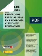 Manual de Adicciones Para Psicólogos Especialistas en Psicología Clínica en Formación