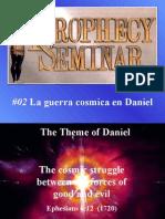 02 La Guerra Cosmica en Daniel