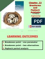 Chapter 13 - Breakeven Analysis