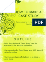 How to Make a Case Study