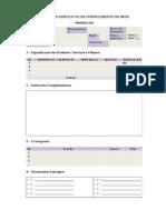Modelo Documento In04 Ordem de Servico Ou Fornecimento de Bens