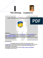 Assignment Micro Biology