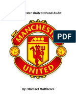 manchester united brand audit
