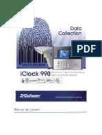 Manual de Operación de Biométrico Iclock990