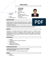 c.v. Raul Velarde Ñahui