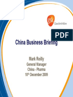 Mark Reilly China