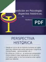 La Medición en Psicología