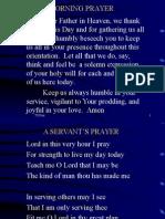 PES Orientation