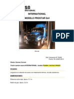 076i-04!06!2014 Cotizacion de Tracto Camion Prostar International