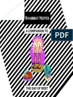 (Judaism) a Guide to Shabbat Celebration - Hebrew English - Torah Jewish Israel