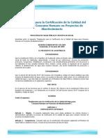 05 Acuerdo Gubernativo 178 2009 Reglamento Certificacion Calidad Del Agua