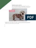 Patrones de pijama para perro.docx