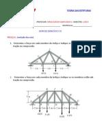 Lista de Exercicios 1 (Teoria Das Estruturas)