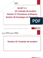 Normes IFRS Liabilities version 2011