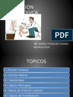 Exposicion Evaluacion Neurologica
