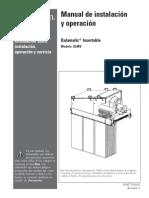 Manual colector de polvo DONALDSON