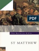 Navarre Bible -  St. Matthew, The - University for Navarre