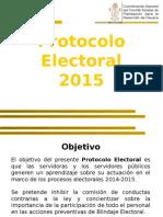 Protocolo Electoral Coplade 2015