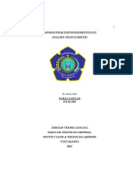 Laporan Praktikum Analisis Granulometri Alji