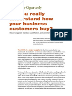 Do You Really Understand How Your Business Customers Buy