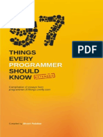97 Things Every Programmer Should Know Extended