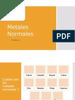 Metales Normales