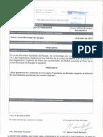 Pregunta sobre las gestiones realizadas por la Concejala-Presidenta de Barajas respecto al informe de necesidades sanitarias de nuestro distrito