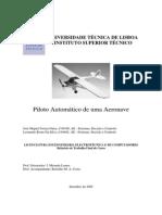 Piloto automático para uma aeronave