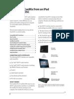CueMix FX TouchOSC for iPad