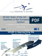 SESAR State of the Art Civil RPAS Insertion in The