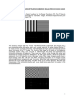 Fourier Transforms for Image Processing