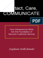 Contact, Care, COMMUNICATE-- How Interpersonal Skills are the Foundation of Genuine Customer Service.pdf
