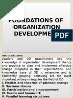 Foundation of Organization Development