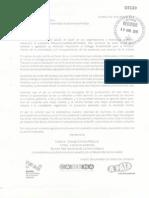 Carta al Rector Alfonso Esparza