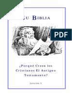 02 El Antiguo Testamento