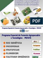 Linhas de Fomento Rural Da SEAPEC - 07-Abr-2015