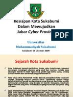 Kesiapan Kota Sukabumi Dalam Mewujudkan Jabar Cyber Province